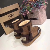 Ugg Baby Fashion Wool Snow Boots-4