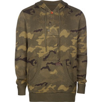 Billabong Garage Collection Linked Out Mens Hoodie Camo  In Sizes