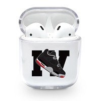 Large Jordan 4 Retro Shoe Emoji Airpods Case
