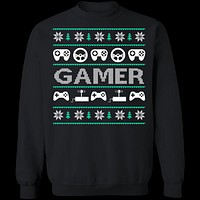 Game Controller Ugly Christmas Sweater