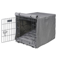 MicroCotton Luxury Dog Crate Cover — Mist