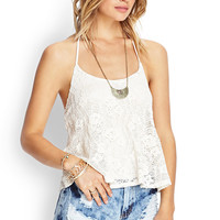 Crochet Lace Halter Top