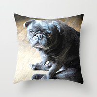 may i assist you from here? Throw Pillow by J.Lauren