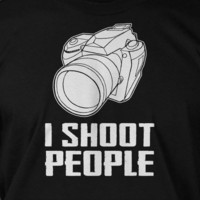 Gifts For Photographers Photography Camera I Shoot by IceCreamTees