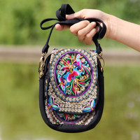 Brookshire Boho Ethnic Embroidered Bag