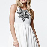 Element Oslo Embroidered Babydoll Dress at PacSun.com