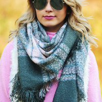 Baby It's Cold Blanket Scarf: Multi