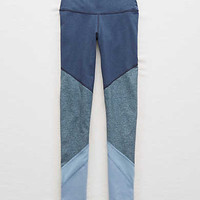 Aerie Move Colorblock Legging , Navy