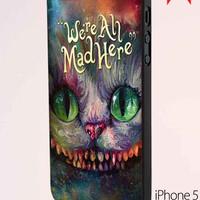 We Are All Mad Here Alice In Wonderland Samsung Galaxy S6 Case
