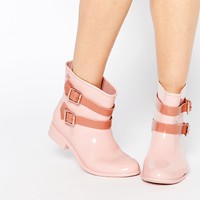 Vivienne Westwood For Melissa Nude Pirate Ankle Boots