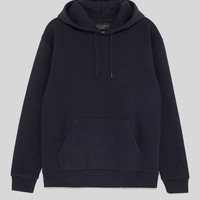 POUCH POCKET SWEATSHIRT