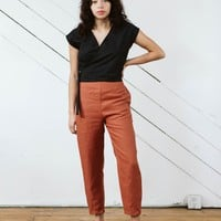 Solana Slim Pants in Linen