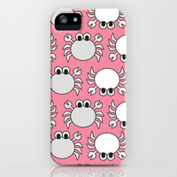 Don't Be Crabby iPhone & iPod Case by tzaei   Society6