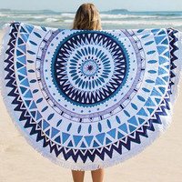 Cupshe Keep Moving Beach Towel