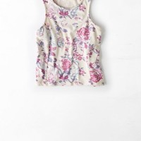 AEO Women's Don't Ask Why Cropped Tank