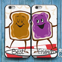 Funny BFF Best Friend Peanut Butter Jelly Case iPod iPhone Adorable Cool Cute
