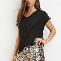 Sequin Dolphin Shorts