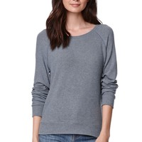 Nollie Pullover Brushed Crew T-Shirt - Womens Tees