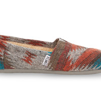 Grey and Red Wool Women's Classics