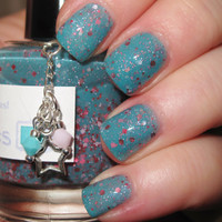 "Mine's the Nicest glitter nail polish 15 mL (.5 oz) from the ""So Very Pretty"" Collection"