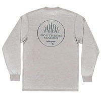 SEAWASH™ Long Sleeve Paddle Tee in Burnt Taupe by Southern Marsh