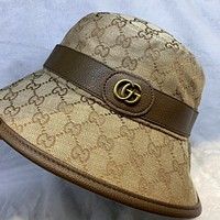 GUCCI double faced fisherman hat