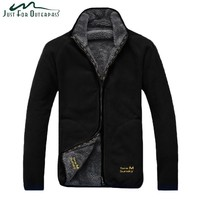 Trendy New Arrival Winter Warm Polar Coral Fleece Jacket Men Windproof Thick Reversible Coat Male High Quality Plus Size Outerwear AT_94_13