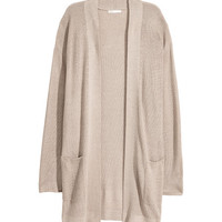 Ribbed Cardigan - from H&M