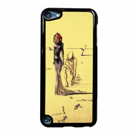Salvador Dali Woman With Flower Head iPod Touch 5th Generation Case