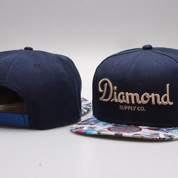 Perfect Diamond Snapbacks hats Women Men Embroidery Sports Sun Hat Baseball Cap Ha