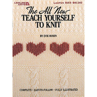 Leisure Arts-Teach Yourself To Knit
