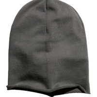 Hat in Sweatshirt Fabric - from H&M