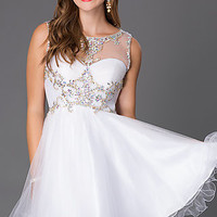 Short Homecoming Dress by Alyce
