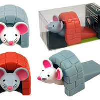 Dormouse Mouse Door Stopper from Baron Bob