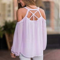 Authentically You Top, Lilac