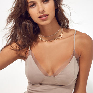 Silence + Noise Camden Mesh Lined Cami | Urban Outfitters