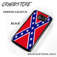 Rubber Confederate Rebel Flag For Samsung Galaxy S6 Case Please Make Sure Your Device With Message Case UY