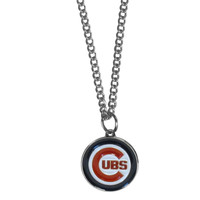 Chicago Cubs Chain Necklace with Small Charm