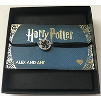 Alex and Ani Harry Potter Gryffindor Pull Cord Bracelet New