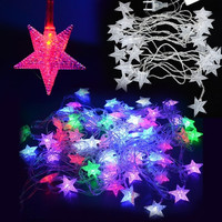 5M 28 L Pentagram Light Decoration EU Plug Christmas Lighting twinkle  D_L = 1713116932