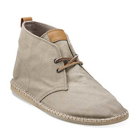 Pikko Alto in Sand Waxed Canvas - Mens Boots from Clarks