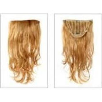 VIP Collection Synthetic Clip-In Extensions / Amber 17''