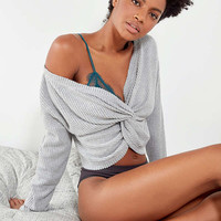 Out From Under Olivia Knot Thermal Top | Urban Outfitters