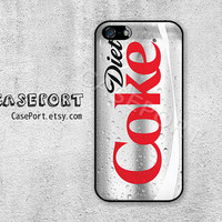 Diet Coke iPhone 5 Case, iPhone 5 Cover, Case for iPhone 5, iPhone Hard Case