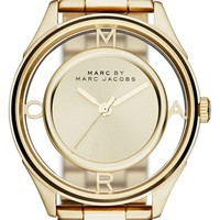 Women's MARC BY MARC JACOBS 'Tether' Skeleton Bracelet Watch, 36mm - Gold