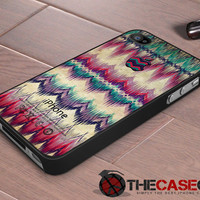iPhone case Aztec Tribal Chevron pattern iPhone 4s and iPhone 4