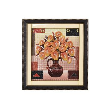Flower Pot Frames 3D Printed Classic, Decorative Frames/Wall Hangings For Home