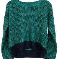I Heart... You Heart... Sweater, Teal/Navy