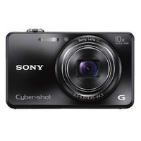 Sony Cyber-shot DSC-WX150 18.2 MP Exmor R CMOS Digital Camera with 10x Optical Zoom and 3.0-inch LCD (Black) (2012 Model)