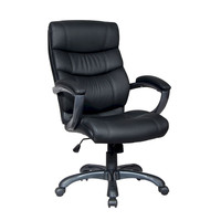 Techni Mobili Executive High Back Chair - Black